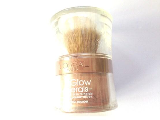 L'Oreal mineral glow powder foundation nude glow 02