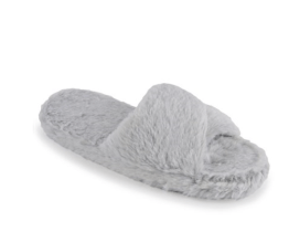 furry mule slippers