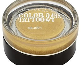 maybelline color tattoo eyeshadow 24K gold