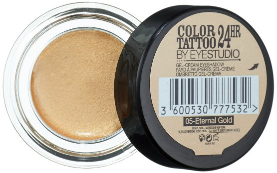 maybelline color tattoo eyeshadow eternal gold