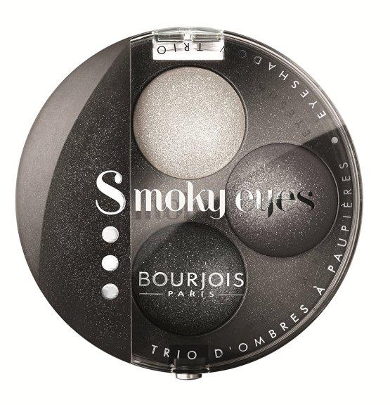 bouorjois smoky eyes trio eyeshadow gris party