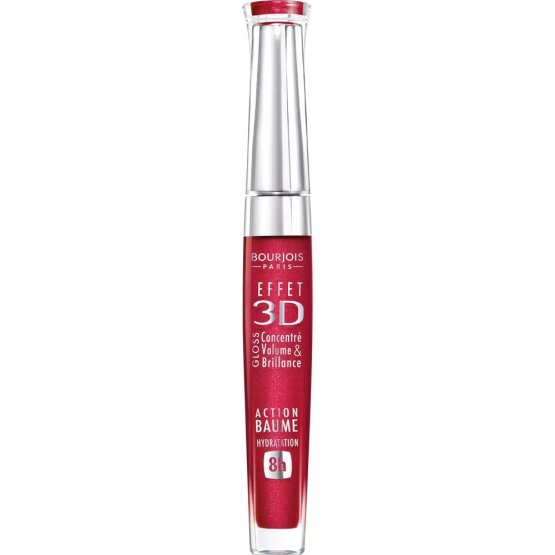bourjois 3d effect lipgloss rouge democratic