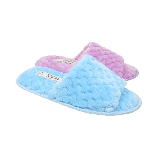 peep toe slippers with sole