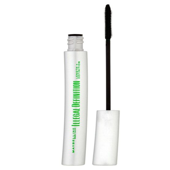 Maybelline illegal lengths mascara glossy black