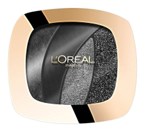 Loreal Color Riche Quad Eyeshadow Magnetic Black S13