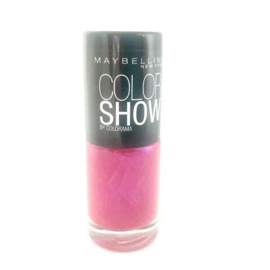 Maybelline Color Show Nail Polish Speeding Light 183, Pink Nail Varnish