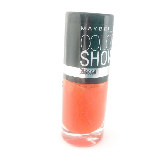 Maybelline Color Show Nail Polish Orange Fix 191, Orange Nail Varnish, Neon