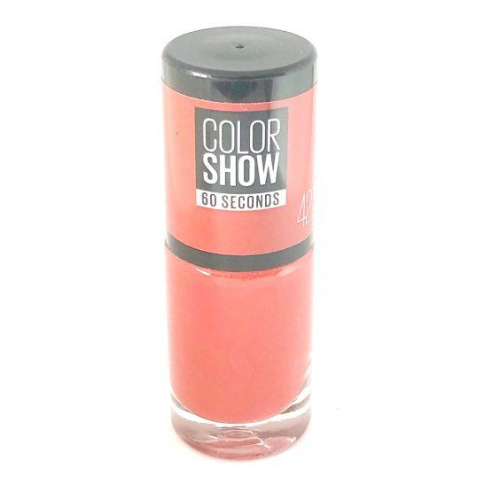 Maybelline Color Show Nail Polish Brooklyn Bricks 42, Brick Red Nail Varnish