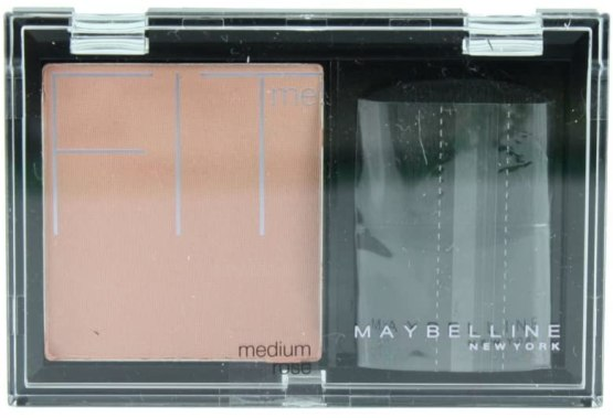 Maybelline Fit Me Blusher Medium Rose, Pink Blush Powder