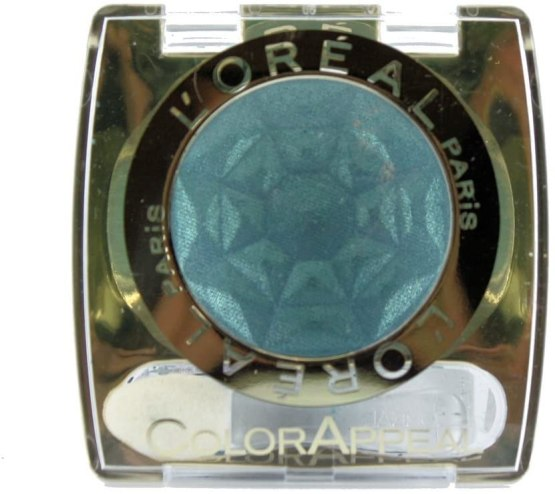L'Oreal Color Appeal Eyeshadow Xenon Blue 106, Blue Eyeshadow
