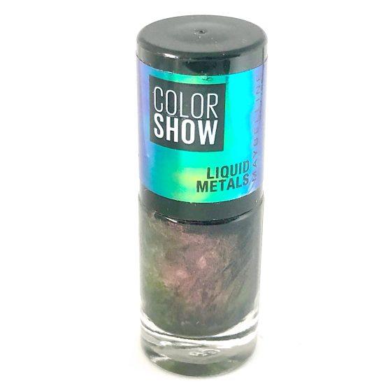 Maybelline Color Show Nail Polish Venus 502, Purple Nail Varnish, Liquid Metals