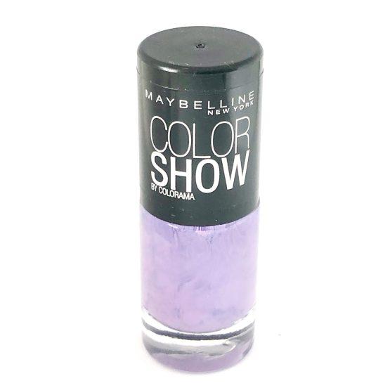 Maybelline Color Show Nail Polish Vinyl Orchid 18, Purple Nail Varnish