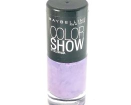 Maybelline Color Show Nail Polish Vinyl Orchid 18, Purple Nail Varnish