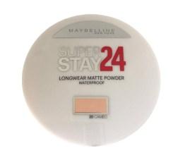 Maybelline SuperStay 24 Matte Foundation Powder Cameo 20, Light Face Powder, Finishing, Waterproof