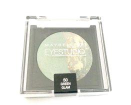 Maybelline Eyestudio Cosmos Eyeshadow Green Glam 50, Green Eyeshadow, Duo