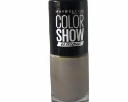Maybelline Color Show Nail Polish Sidewalk Strut 328, Grey Nail Varnish, Stone