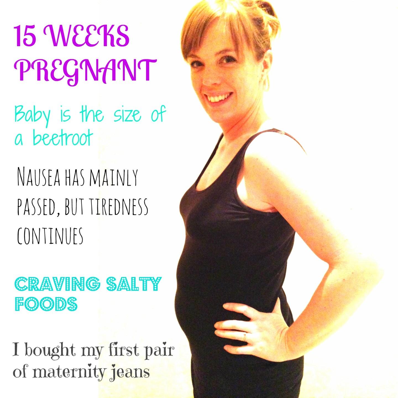 15 weeks: Bumpdate