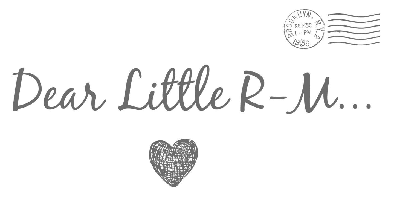 Dear Little R-M