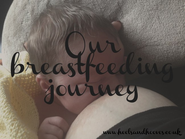 Our breastfeeding journey