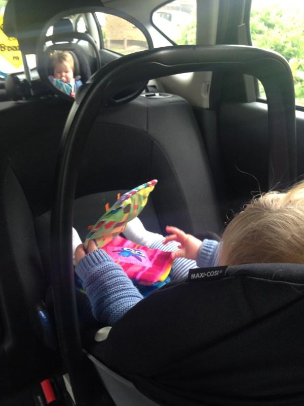 Snugglybabies Baby Rear View Car Mirror 2