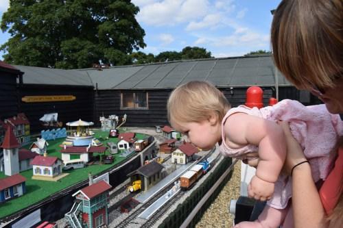 Baby model railway