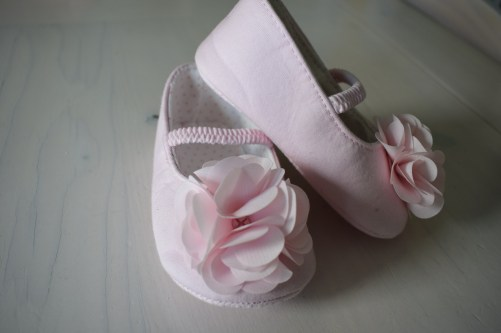 First birthday shoes