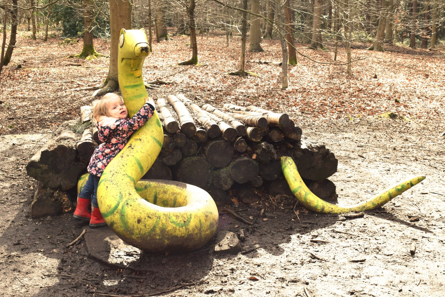 The Gruffalo Trail, Essex snake