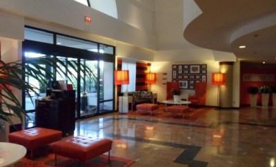 Orlando Sheraton Suites lobby
