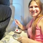 United first ice cream sundae Jeanne