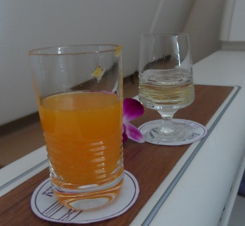 Thai Airways First Class A380 Dom Mimosa