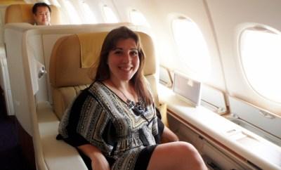 Thai Airways First Class A380 Keri HeelsFirstTravel