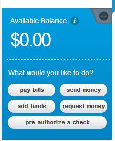 American Express Bluebird Vanilla Reload Money Options