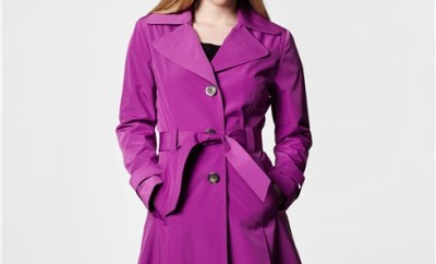 Magenta Trench for Travel