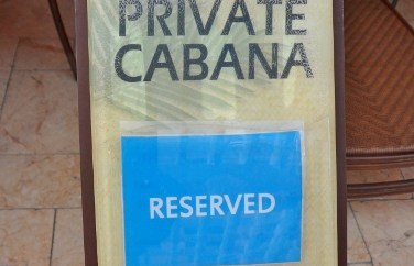 Hyatt Regency Clearwater Beach Pool Cabana Reserved