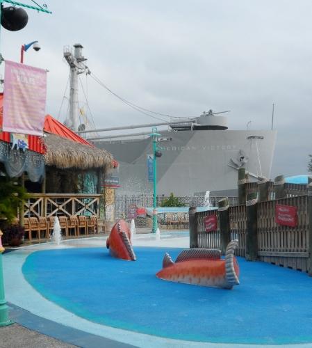 Florida Aquarium Tampa bar play area