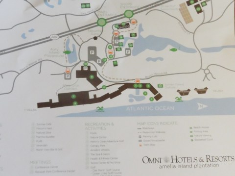 Omni Amelia Island Plantation Resort map