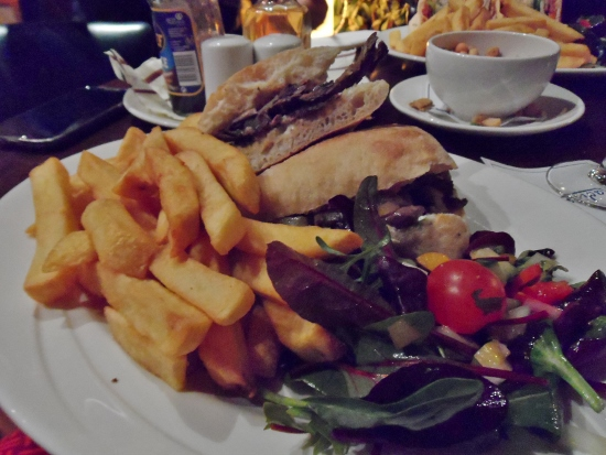 Radisson Blu Limerick Hotel & Spa Quench Bar Steak Sandwich