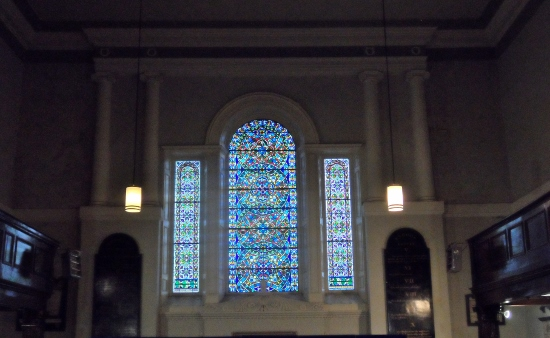 St Michans Church Stainglass