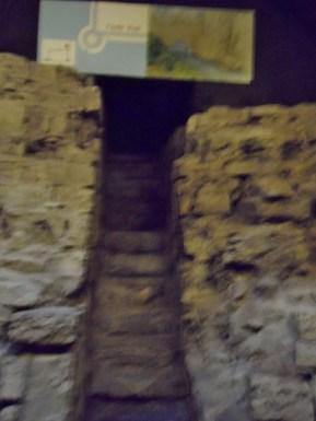 Dublin Castle Medieval Undercroft River Entrance