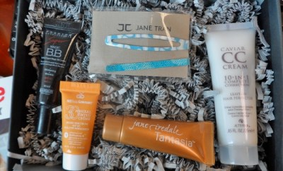 March 2014 Sample Society Box