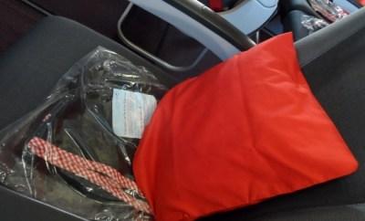 Austrian Airlines pillow blanket economy