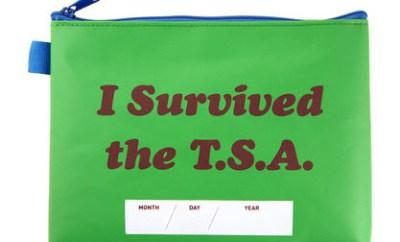 Flight 001 TSA pouch Ideeli