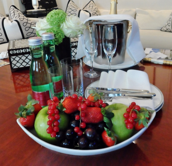 Hotel Bristol Vienna Fruit Plate