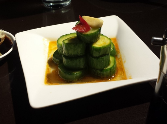 Din Tai Fun Seattle Cucumbers