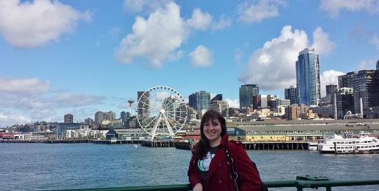 Keri Seattle Skyline from Bainbridge Ferry
