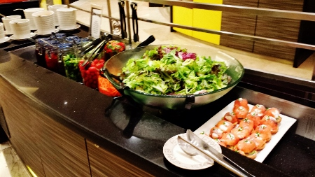 Le Meridien Kuala Lumpur Latest Recipe Breakfast Buffet Salad