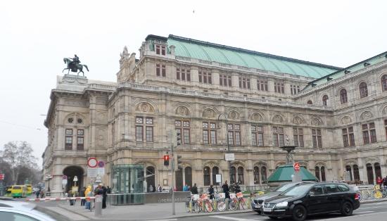 Vienna Opera House Exterior