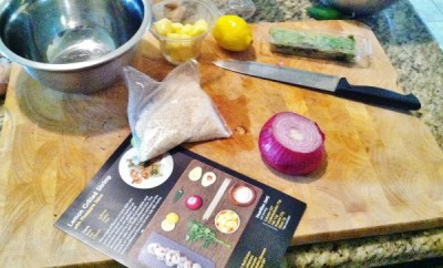HelloFresh ingredients