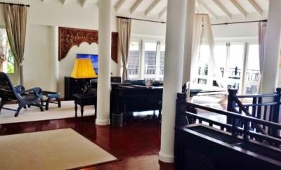 Intercontinental Koh Samui Resort Villa Living Room