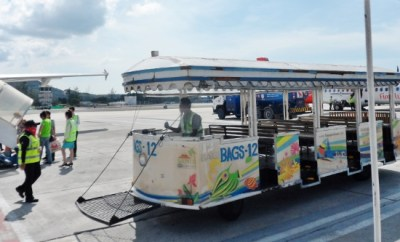 Koh Samui Airport Plane Tram